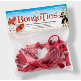 BongoTies All-Red A5-01-R