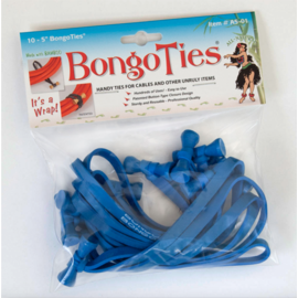 BongoTies All-Blue A5-01-B