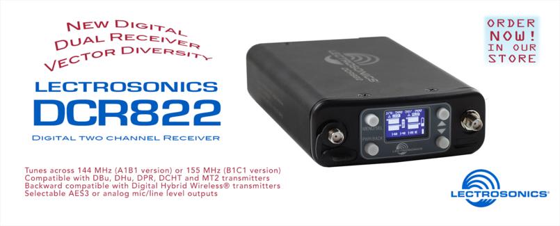 Lectrosonics DCR822