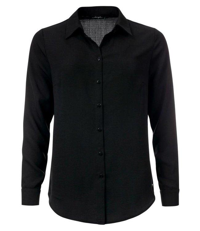 dayz Lieke - Zwarte basis blouse