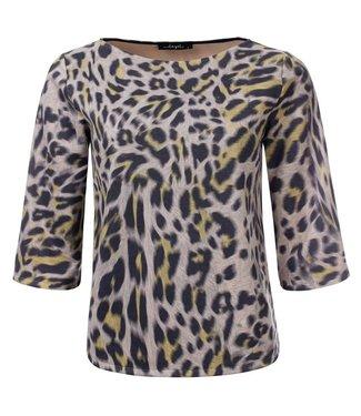 Thiffany - Printed animal 3/4 sleeve top