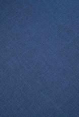 vidaXL Bankstel voor 5 personen stof blauw 2-delig