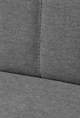 vidaXL Bank 117x55,5x77 cm stof lichtgrijs