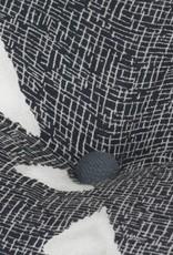 vidaXL Bankstel modulair stof gestreept 14-delig