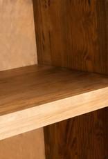vidaXL Badkamer wandkast 42x23x70 cm gerecycled massief grenenhout