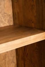 vidaXL Badkamerkast vrijstaand 48x32x170 cm gerecycled grenenhout