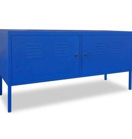 vidaXL Tv-meubel 118x40x60 cm blauw