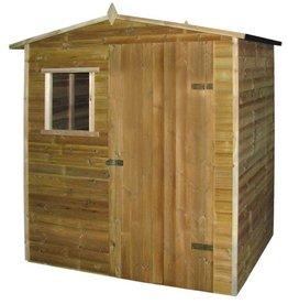 vidaXL Tuinhuis 1,5x2 m geïmpregneerd grenenhout