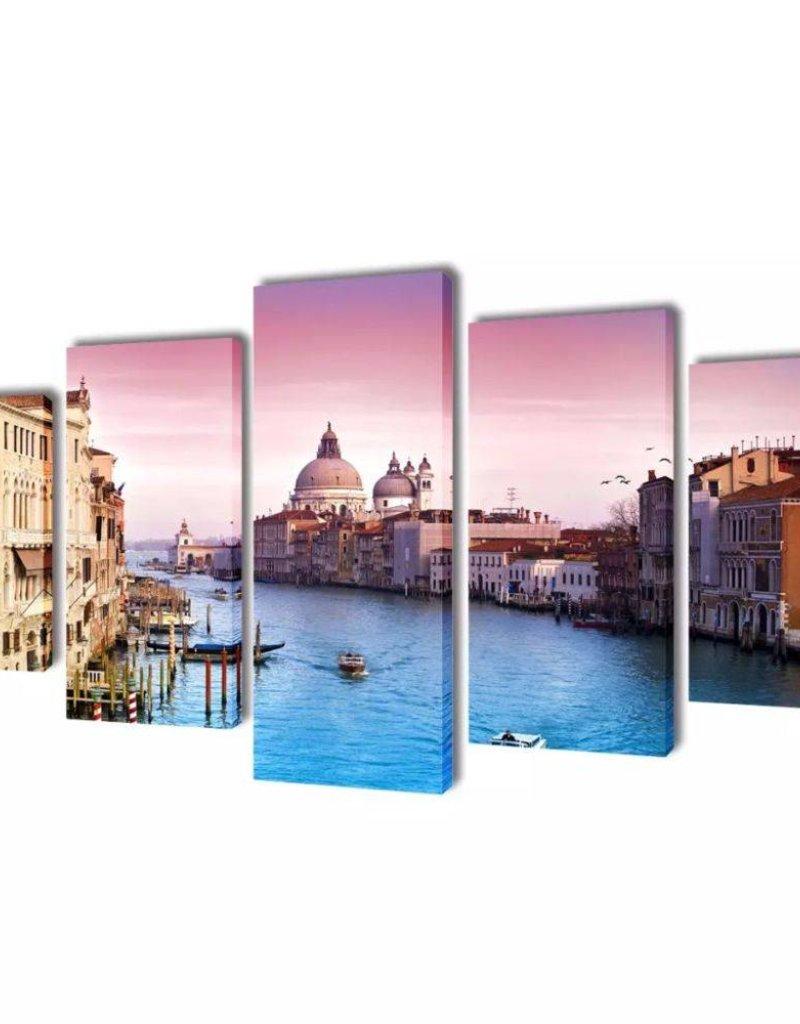 vidaXL Canvasdoeken Venetië 200 x 100 cm