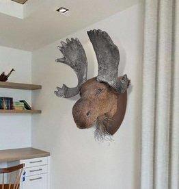 vidaXL Muurdecoratie eland