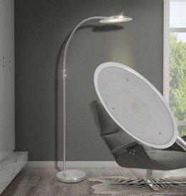 vidaXL led-vloerlamp boog dimbaar 10 W