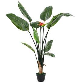vidaXL Kunstplant paradijsvogelbloem 155 cm