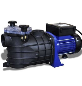 vidaXL Elektrische zwembadpomp 500W blauw