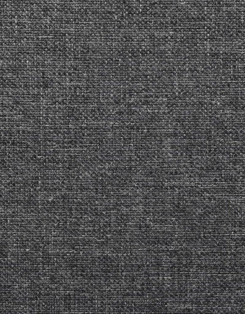 vidaXL Bankstel stof donkergrijs 2-delig