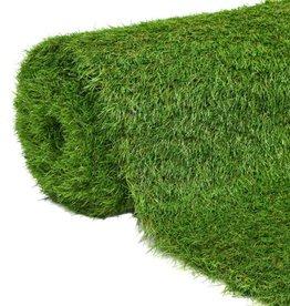 vidaXL Kunstgras 1,5x10 m/40 mm groen