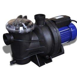 vidaXL Elektrische zwembadpomp 1200W blauw