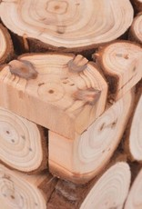 vidaXL Bank 100x34x41 cm echt hout