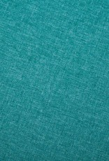 vidaXL Bank L-vormig 186x136x79 cm stoffen bekleding groen