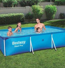 Bestway Zwembad met stalen frame 300x201x66 cm 56404