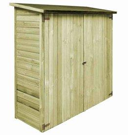 vidaXL Tuinschuur 192x76x175 cm geïmpregneerd grenenhout