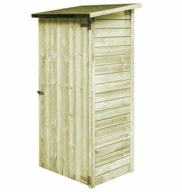 vidaXL Gereedschapsschuur 88x76x175 cm geïmpregneerd grenenhout