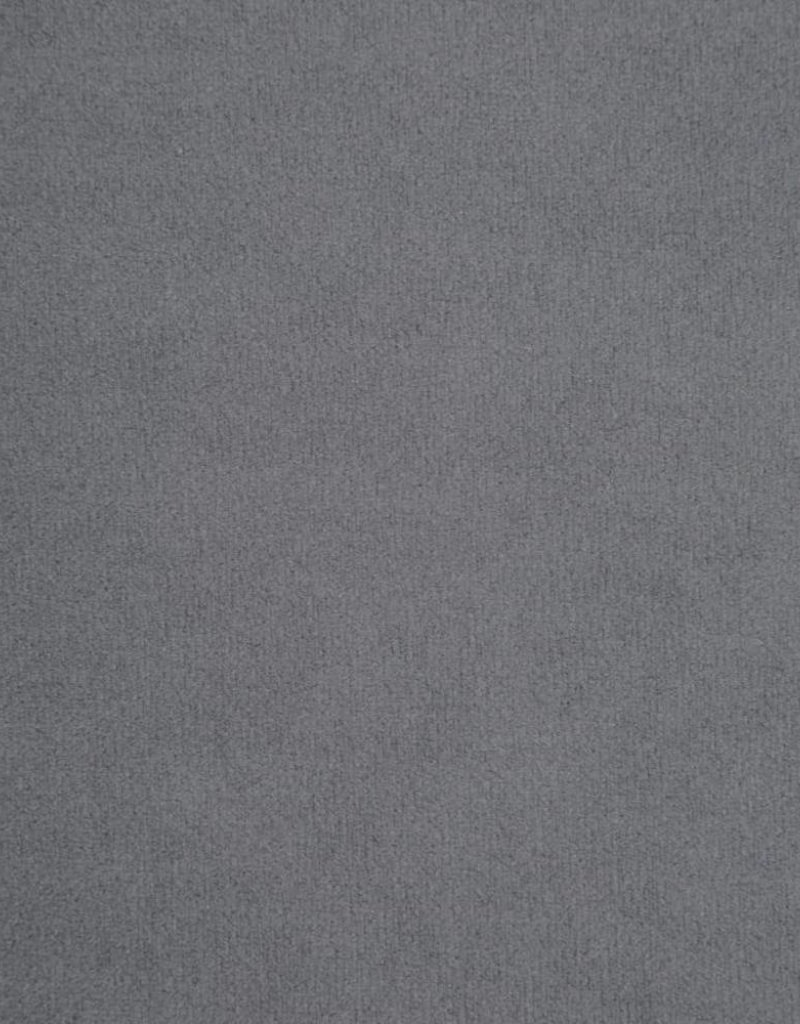 vidaXL Bankstel Chesterfield-stijl fluwelen bekleding grijs 2-delig