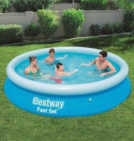 Bestway Fast Set Zwembad opblaasbaar rond 366x76 cm 57273