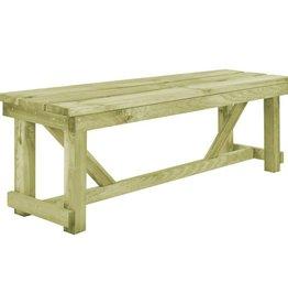 vidaXL Buitenbank 140x38x45 cm FSC hout