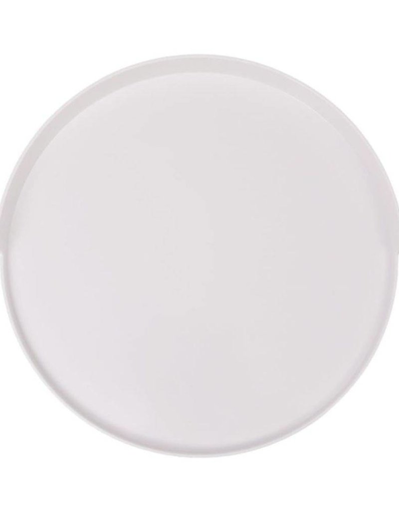 Witte Salontafel Dienblad.Vidaxl Salontafel Met Dienblad Rond 40x45 5 Cm Wit Homelifesecure Nl