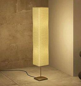 vidaXL Vloerlamp met papieren lampenkap 135 cm