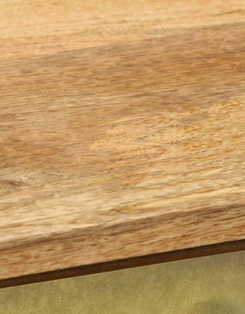vidaXL Dressoir 120x30x80 cm massief mangohout