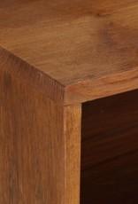 vidaXL Tv-meubel 140x30x40 cm massief gerecycled hout