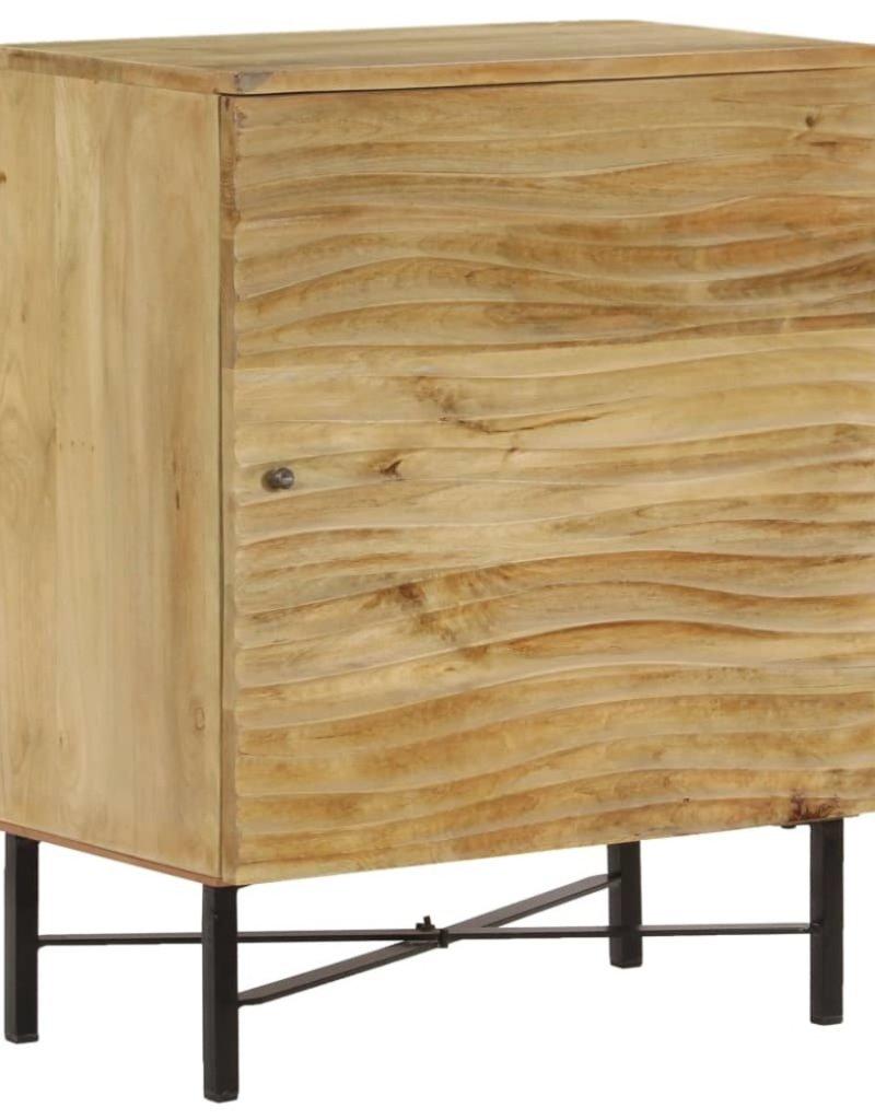 vidaXL Dressoir 60x35x75 cm massief mangohout