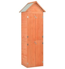 vidaXL Tuinschuur 71x60x213 cm hout