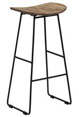vidaXL 5-delige Barset gerecycled teakhout