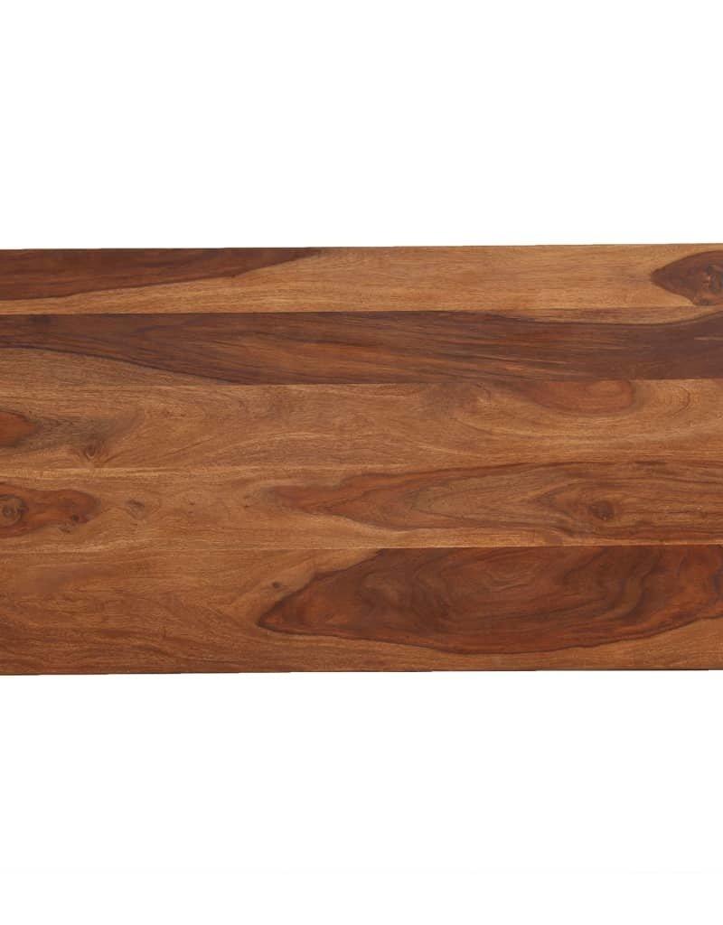 vidaXL 5-delige Barset 115x56x107 cm massief sheeshamhout