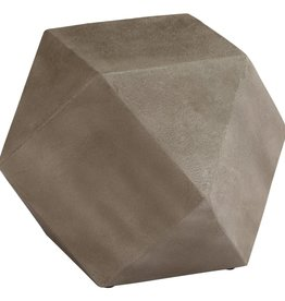 vidaXL Bijzettafel 40x40x40 cm beton