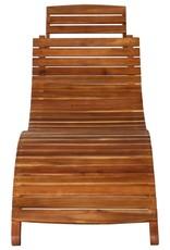 vidaXL 3-delige Loungeset massief acaciahout bruin