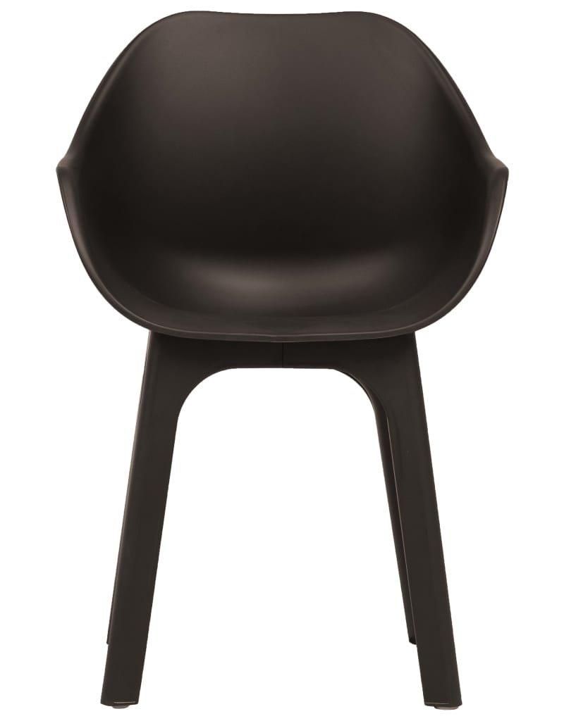 vidaXL 9-delige Tuinset kunststof bruin