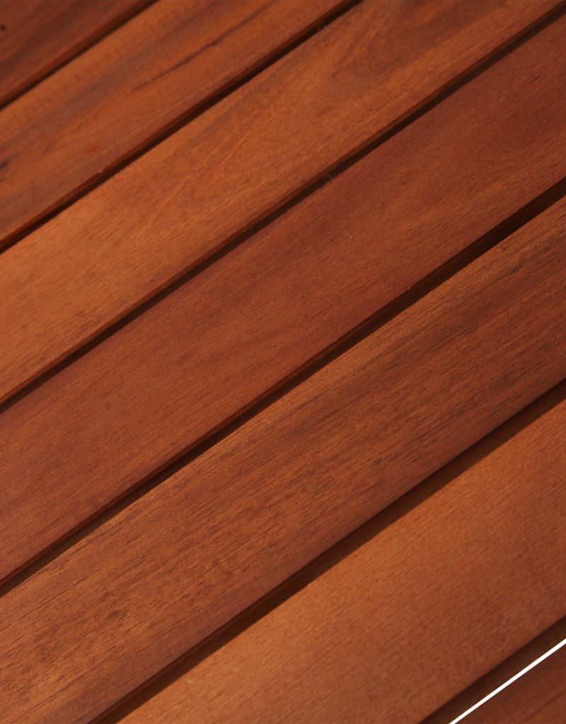 vidaXL 3-delige Bistroset massief acaciahout