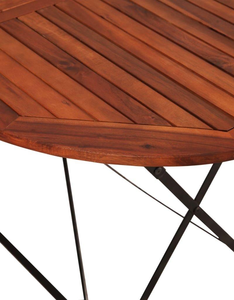 vidaXL 7-delige Tuinset massief acaciahout