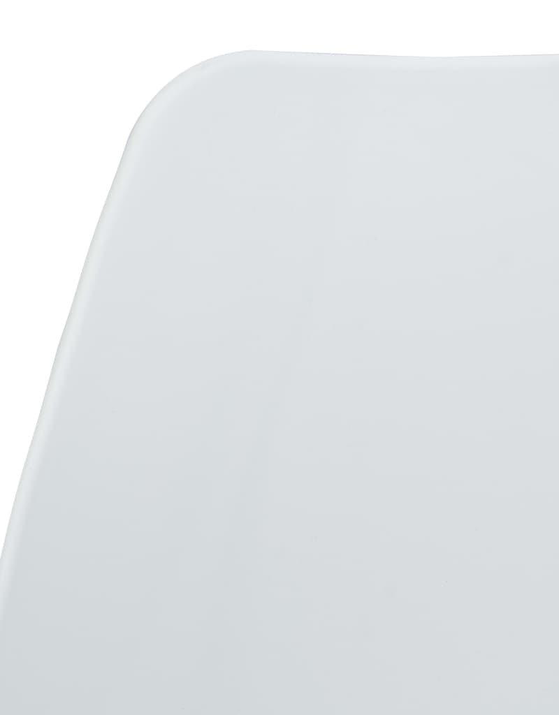 vidaXL 3-delige Bistroset kunststof wit