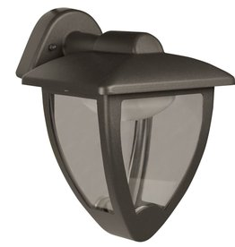 Luxform LED-wandlamp Luxembourg Down 230 V antraciet LUX1607Z