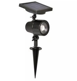 Luxbright Solar LED-spotlight voor buiten Cannes zwart 44109