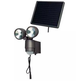 Brennenstuhl LED-Spotlight op zonne-energie SOL 2x4 antraciet 4 W 1170920