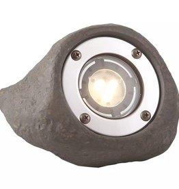 Garden Lights LED spotlicht Lapis grijs kunsthars 3577441