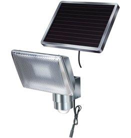 Brennenstuhl solar LED beveiligingslamp bewegingssensor (grijs/zilver)