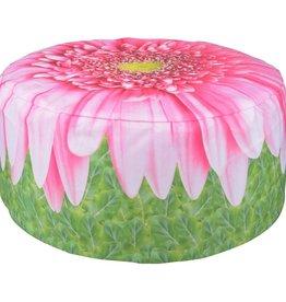 Esschert Design Opblaasbare tuinpoef Gerbera Daisy 58 cm BK015