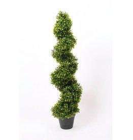 Emerald Kunstplant buxus spiraal groen 95 cm 2 st 17.171C