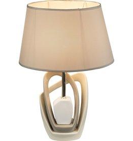 GLOBO Tafellamp JEREMY keramiek 47 cm 21642T